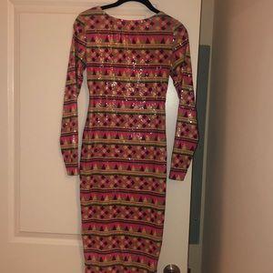 WORN TWICE! ASOS Pretty Sequin dress!